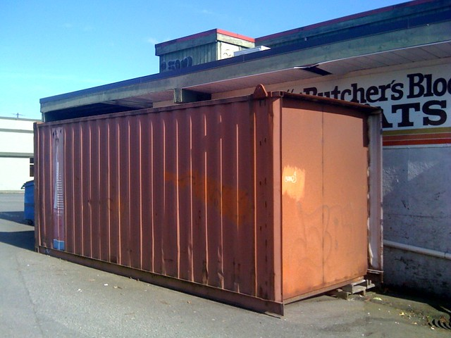 Butcher's Block Meats shipping container