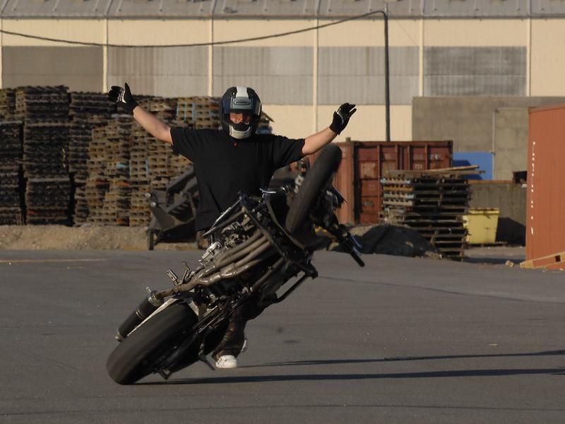Stunt Motorad Crash