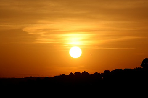 sunset sarajevo