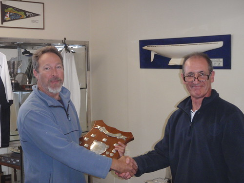 Don Harland winner of the 2010 Handicap Series | by PLSC (Panmure Lagoon Sailing Club)