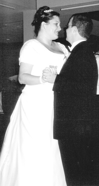 Carrie and I Dancing at our Wedding