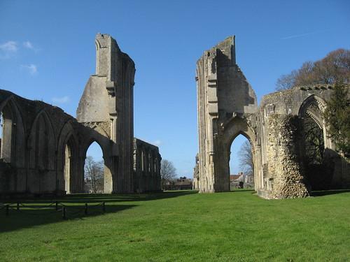 Glastonbury Abbey   by willowmina