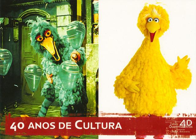Sesame Street Brazil Postcard