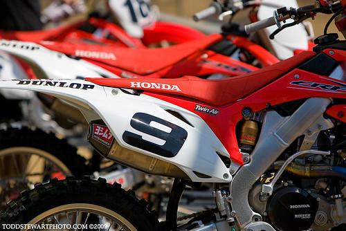 Ivan Tedesco's Factory Honda 450