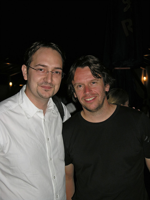 With Nick from Chicane