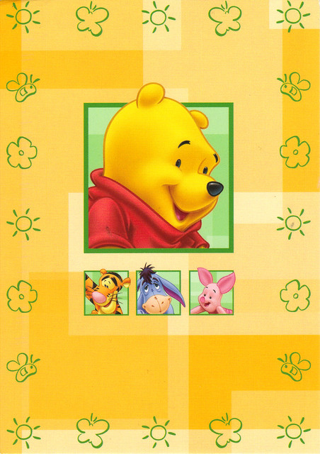 Winnie the Pooh Postcard