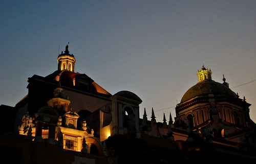Cúpulas de la Catedral (Puebla, México)