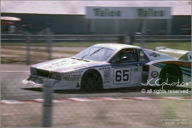 24 Heures du Mans 1981 Lancia Beta Monte Carlo