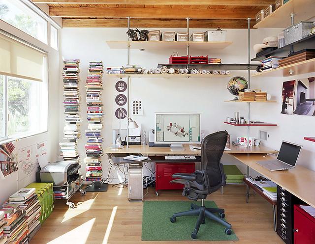 promo code 0bb89 baebb Office of floating shelves | Office- with custom