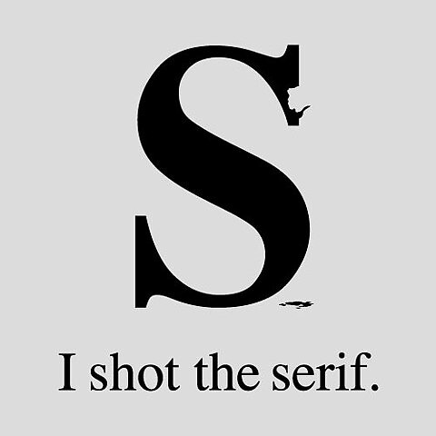 Design Blog Sociale - 4th June 2009 - I shot the serif by Tom Gabor | by SOCIALisBETTER
