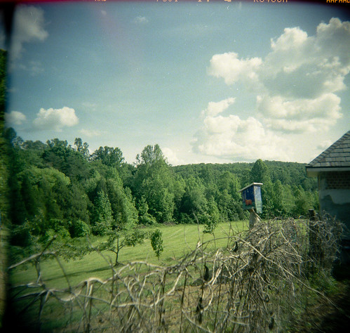 wedding holga toycamera fujicolor centralvirginia holgascans jasonandpatrick may2009 spring2009 northgardenva