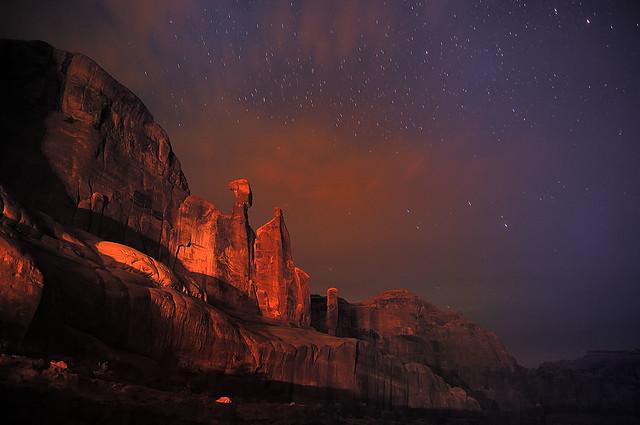 Moab at Night
