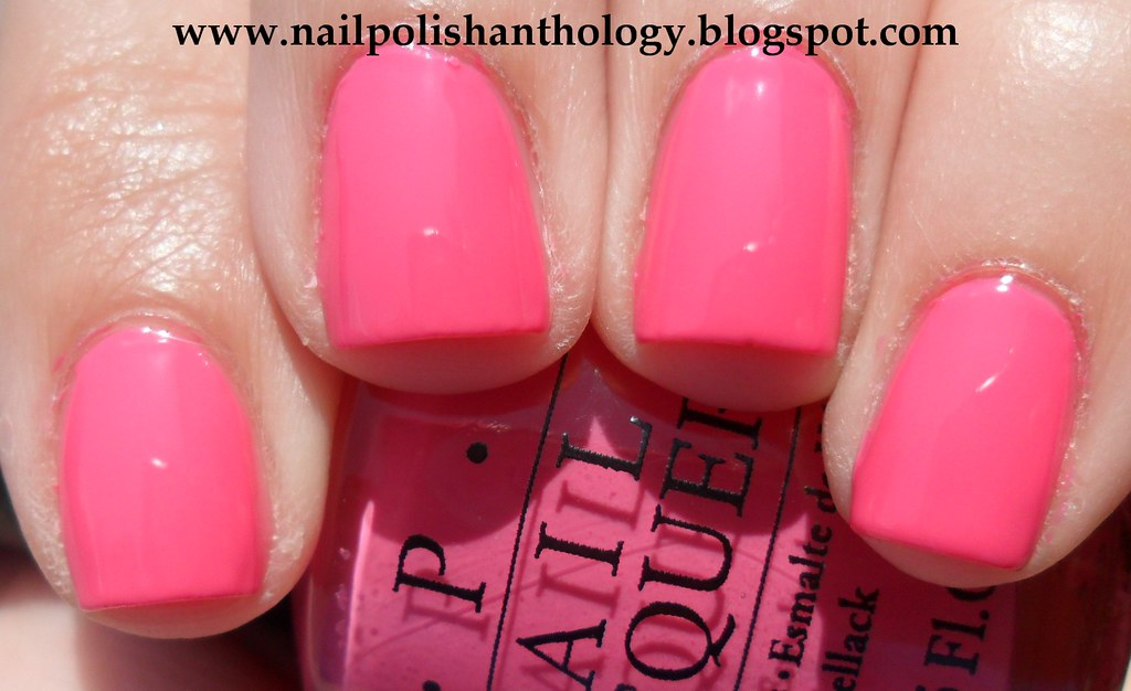 Opi Strawberry Margarita Nail Polish Anthology Flickr