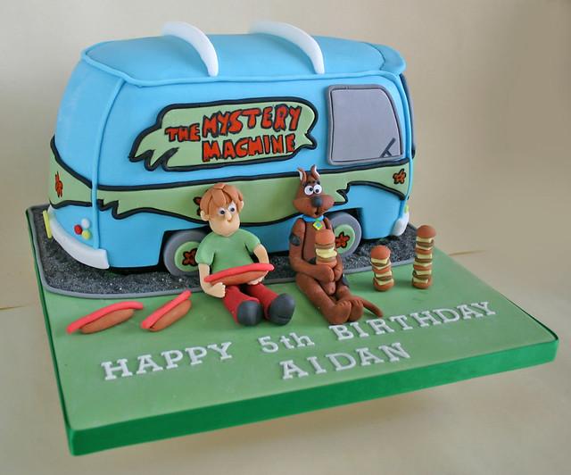 Birthday Cake (218) - Scooby Doo & Mystery Machine