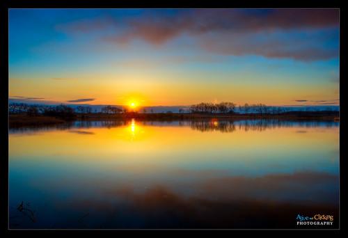 morning lake reflection sunrise landscape interestingness explore hdr lakecounty naturesfinest gogreen explored lcfpd earthday2009