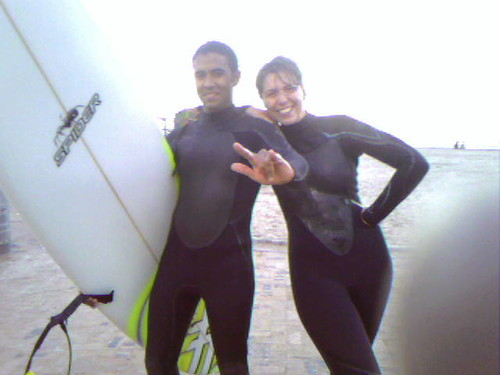 mehdi the cool surf dude and me