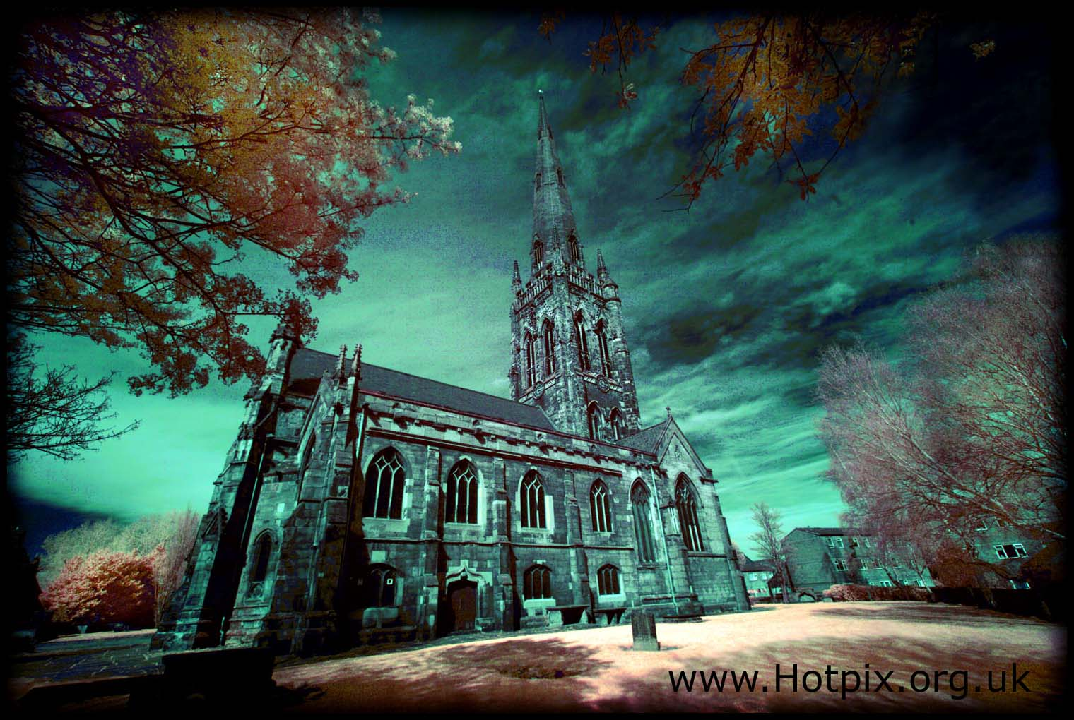 tony,smith,tonysmith,hotpix,tonysmithhotpix,stelphins,st,saint,elphin,elphins,elfins,warrington,town,cheshire,UK,england,chapel,cathedral,colour,color,infra,red,infrared,IR,R72,720nm