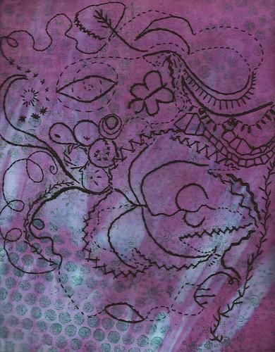 Embroidery Before Fillinga