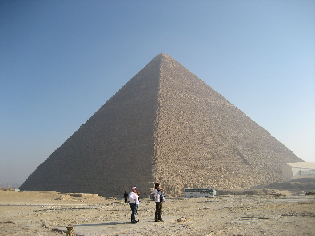 The Great Pyramid Khufu S Pyramid The Last Remaining