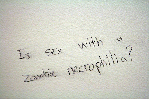 Day 124: Is Sex with a Zombie Necrophilia? | by quinn.anya