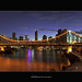 Brisbane City - Story Bridge.         Same Shot, Different Day!!! by Cass n Dan