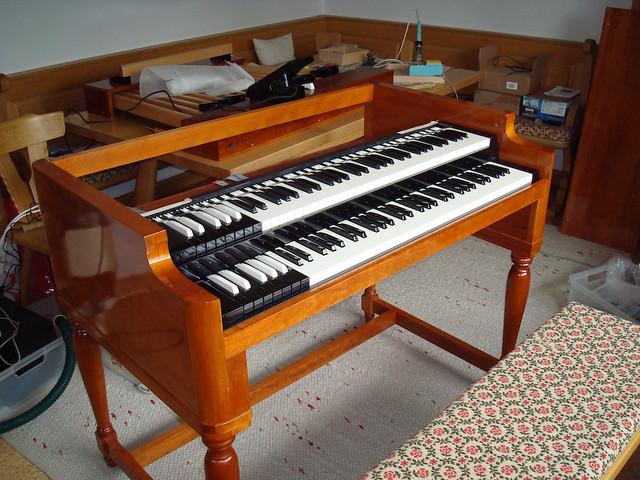 MIDI Organ Controller for Native Instruments B4 | Building t