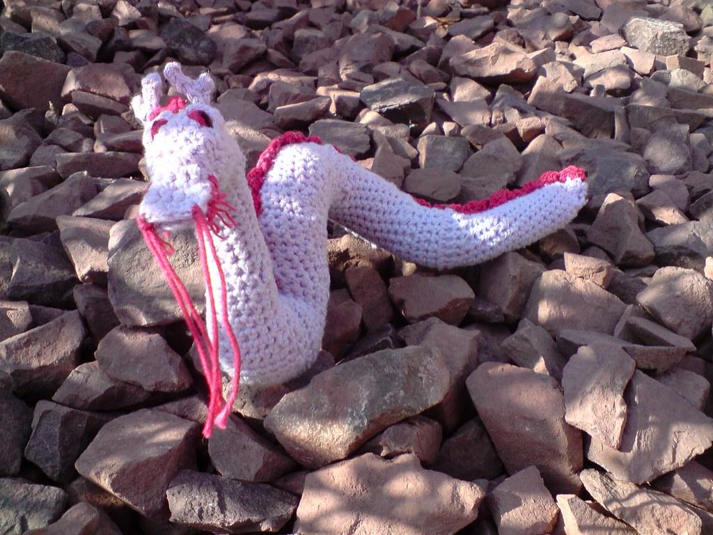 PDF Digital Download Vintage Crochet Pattern Loch Ness Monster 17 ... | 768x1024