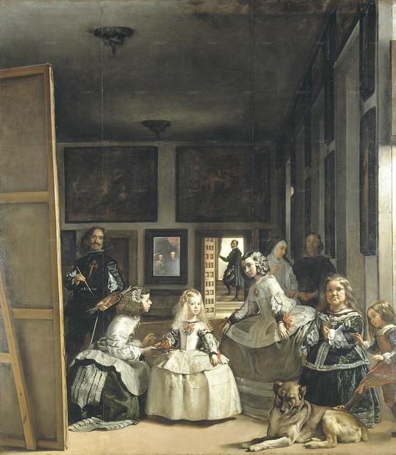 Velazquez - The Royal Family of Philip IV, or Las Meninas 1656