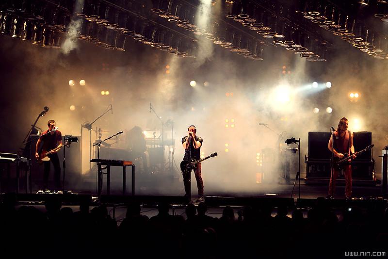 Nine Inch Nails live @ PNC Bank Arts Center, Holmdel, NJ, 6.06.09