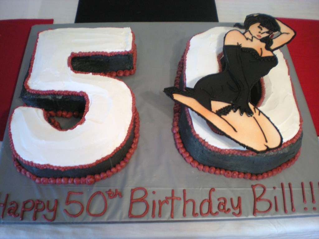 Pleasant 50Th Birthday Pin Up Girl Cake Jessica Parrott Robitaille Flickr Funny Birthday Cards Online Sheoxdamsfinfo