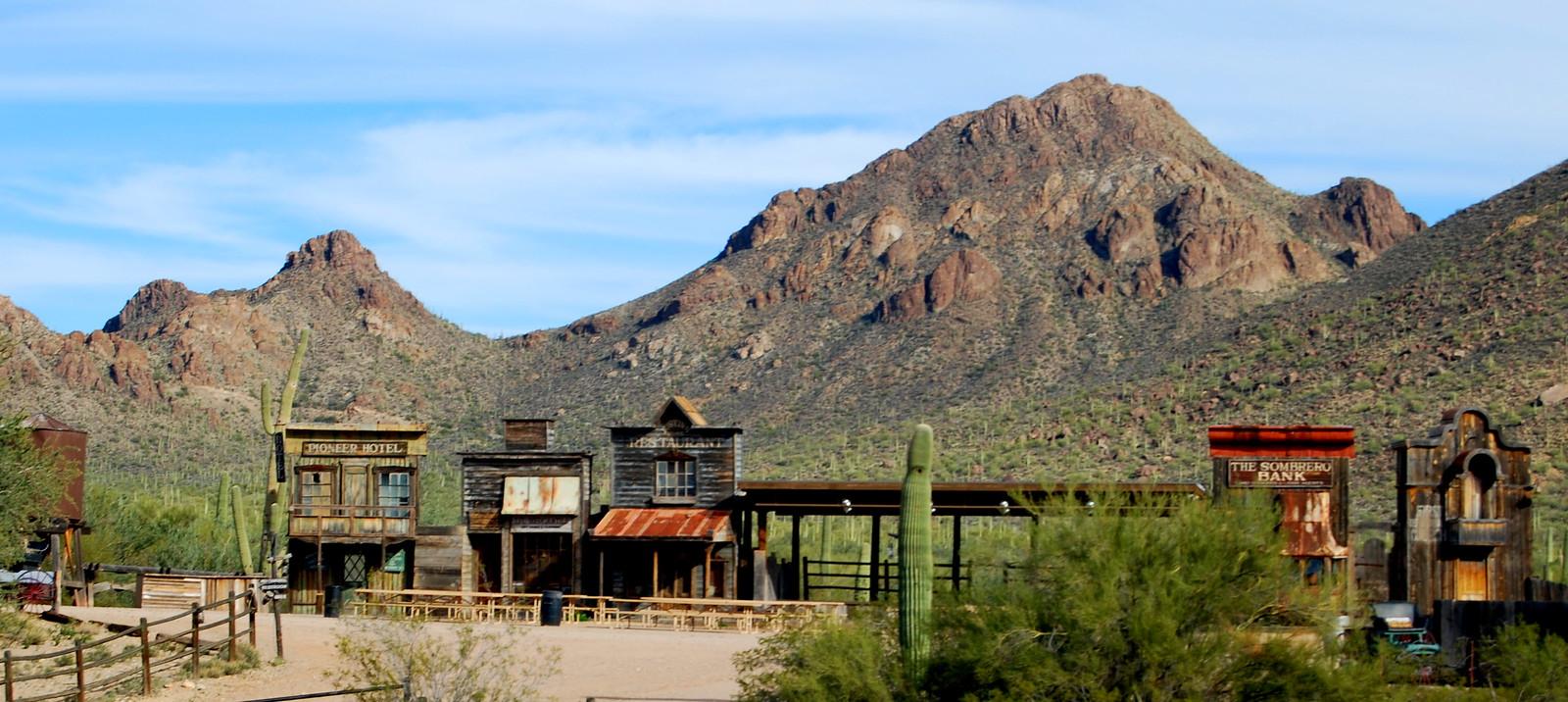 Old Tucson Studios,Tucson AZ.