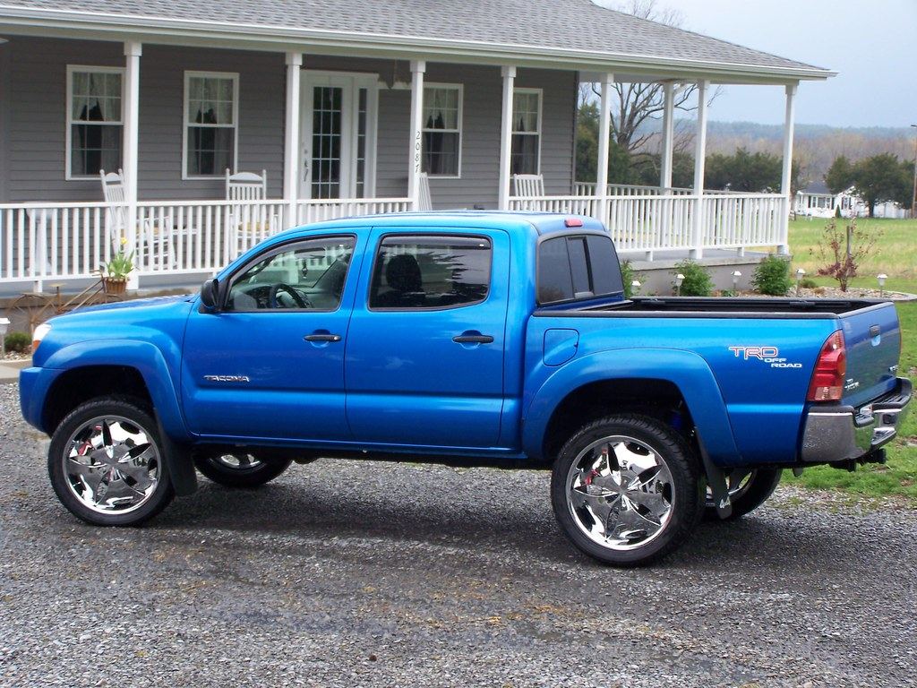 toyota tacoma 3inch lift 22 inch rims 2006 trd 4x4 | Flickr