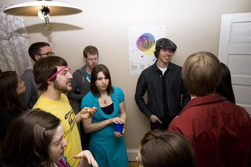 Social Circles (Art Prom '09)
