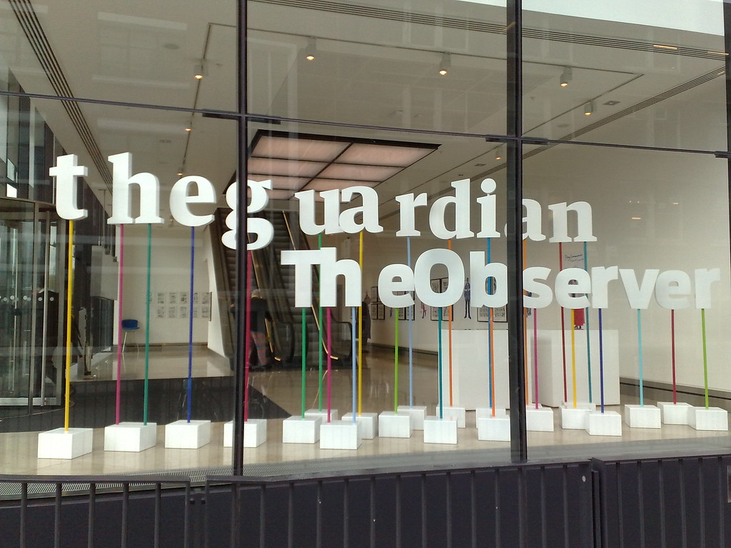 The Guardian and The Observer offices at Kings Place