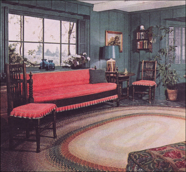 1952 Color For Colonial Interior, #2