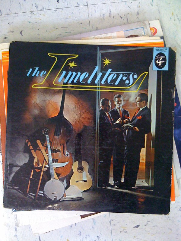 The Limelighters record cover