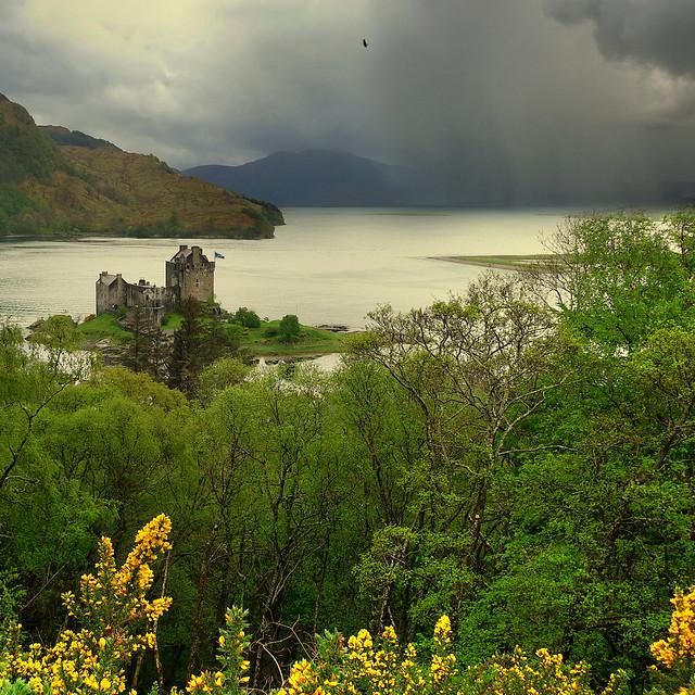 Eilean Donan Highland castle