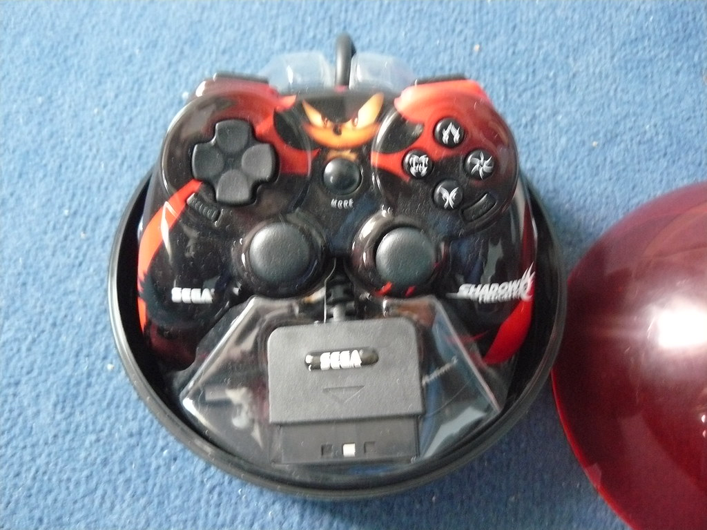 Shadow The Hedgehog PS2 Controller | SEGA Europe | Flickr