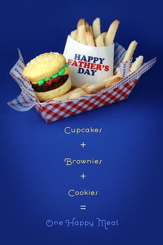 Brownie Burger Cupcakes & Cookie Fries | by Bakerella