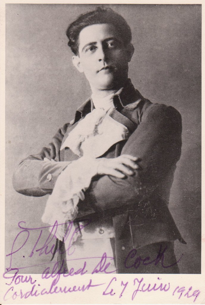 Georges Thill, French tenor as Werther | Records of this ten