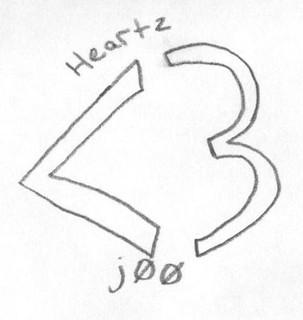 doodle week: heartz j00