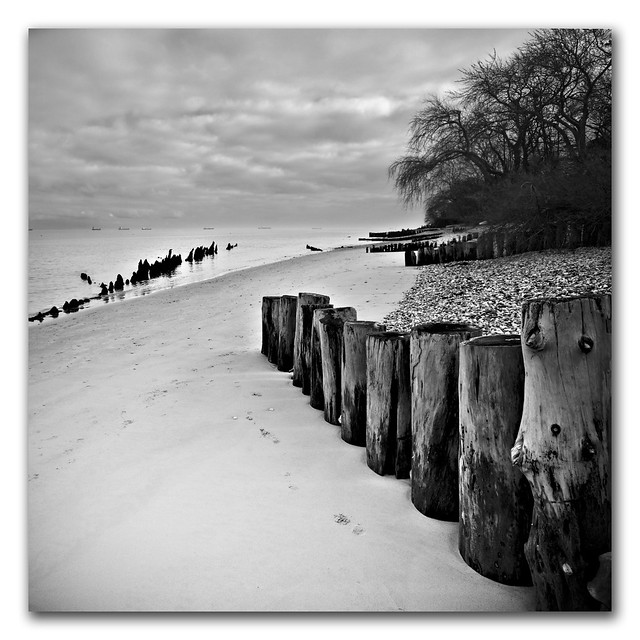 Bembridge Square Series #6 Time and tide wait for no man.