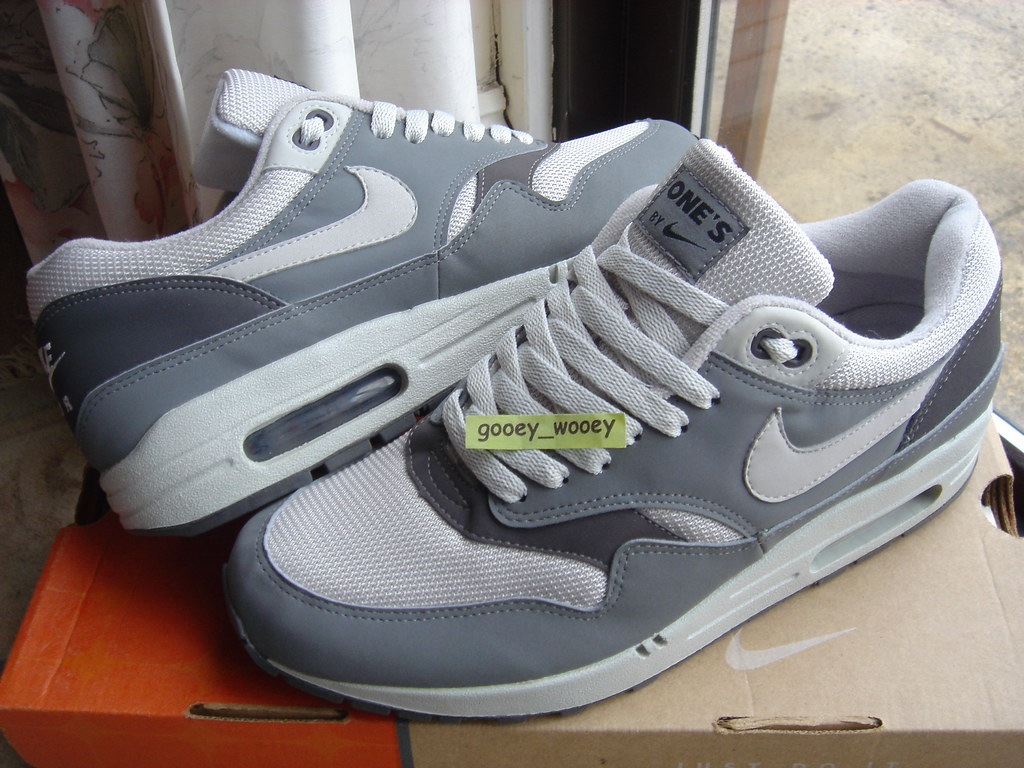Max Soft Mi Nike 1 Grey Sterling 'book One's' Air Of wn0kOP8