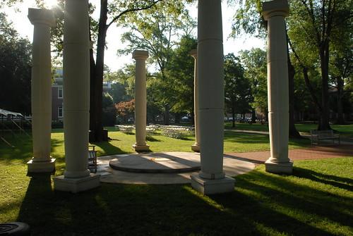 Alumni Green on Presbyterian College Campus