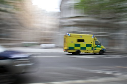 Ambulance in Motion | by Benjamin Ellis