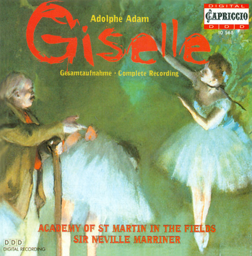 ADAM, A.: Giselle [Ballet] (Academy of St. Martin in the Fields, Marriner)