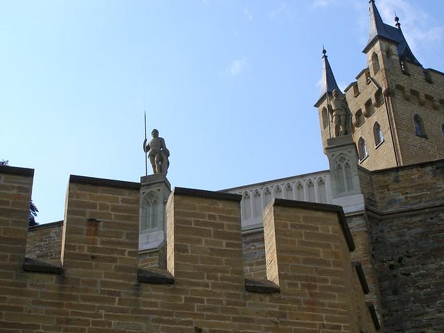 Letzter Blick zurück zu den Burgwächtern