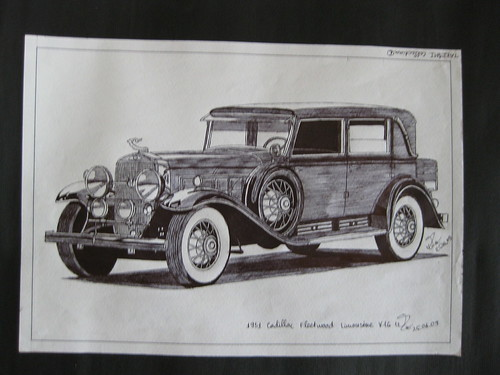1931 Cadilac Fleetwood Limousine V16