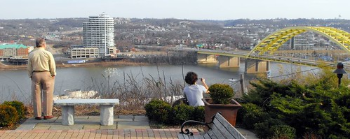 Taking in the view from Mount Adams | by cincyproject