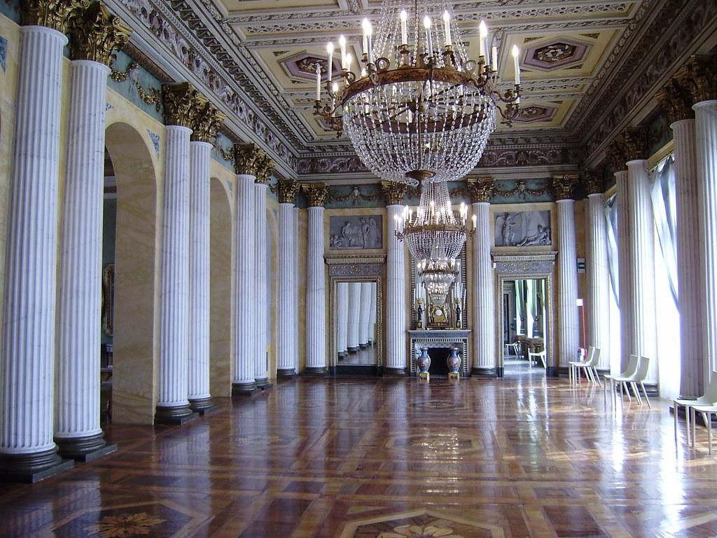 Sala Da The Milano.Villa Belgiojoso A Milano Sala Da Ballo La Villa Reale D